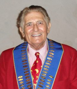 The late and much respected Past President Joe Abrahams