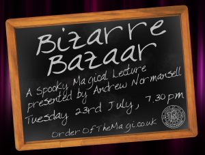 Bizarre Bazaar - The Andrew Normansell Lecture @ Irish World Heritage Centre