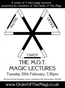 The M.O.T Magic Mini Lectures @ Irish World Heritage Centre